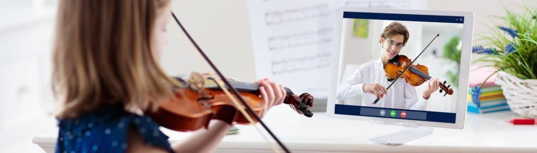 virtual violin lessons